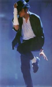 """Michael Jackson kicking it in """"Black or White"""""""